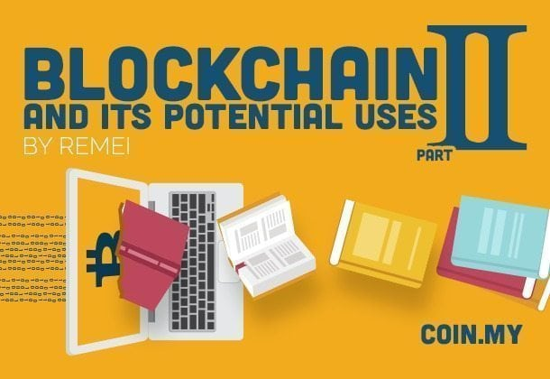 An image of the article on blockchain entitled, Blockchain and Its Potential Uses Part II