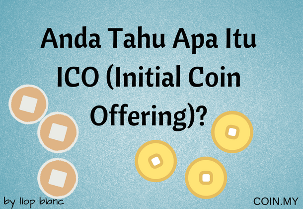 An image for a post about initial coin offering