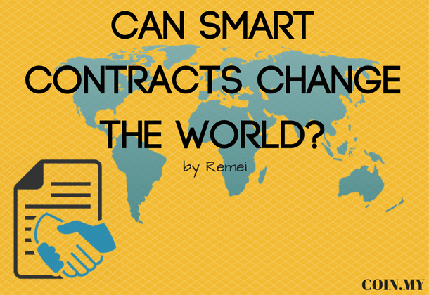 An image for a post about smart contracts