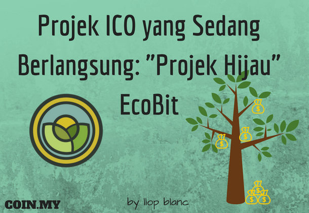 An image on a post about ico of ecobit project