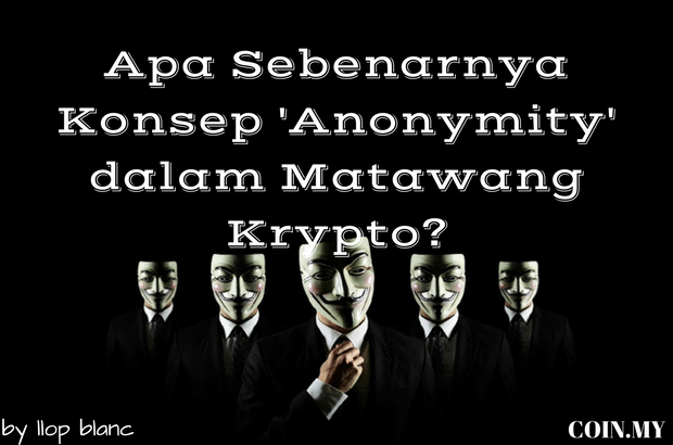 an image on a post about bitcoin anonymous