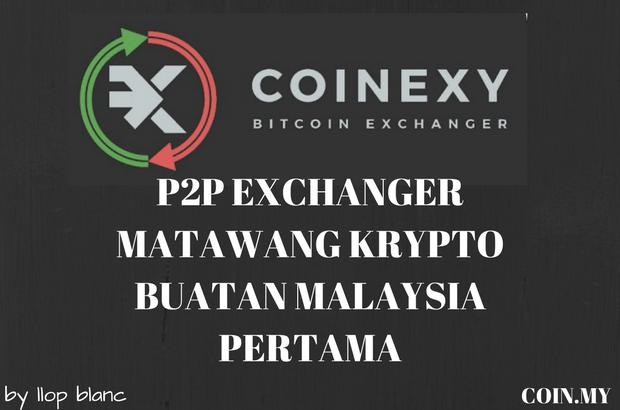 an image on a post about coinexy