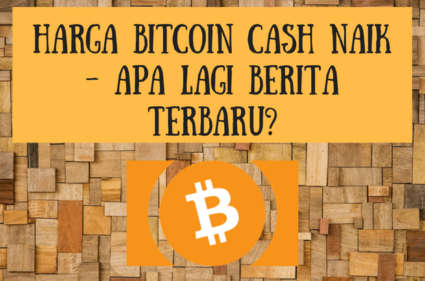an image on a post about harga bitcoin cash