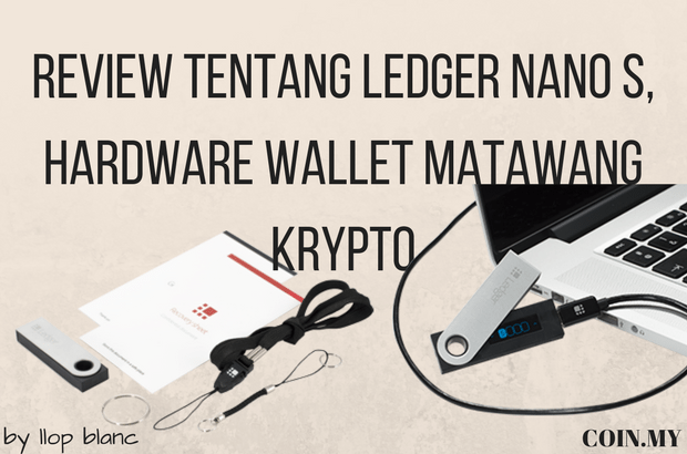 an image on a post about ledger nano s