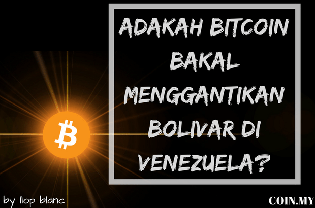 an image on a post about venezuela, bitcoin
