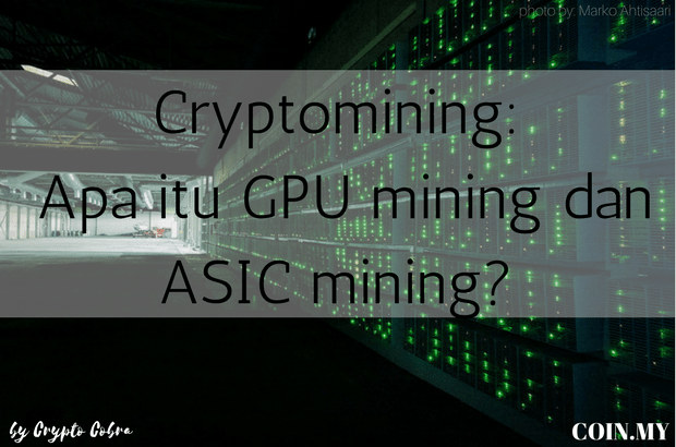 an image on a post about cryptomining