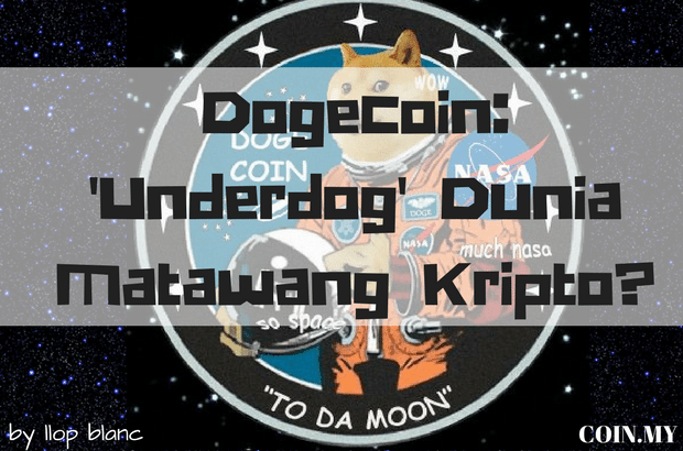 an image on a post about matawang kripto dogecoin