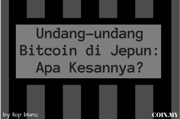 an image on a post about undang-undang bitcoin