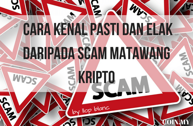 an image on a post on scam