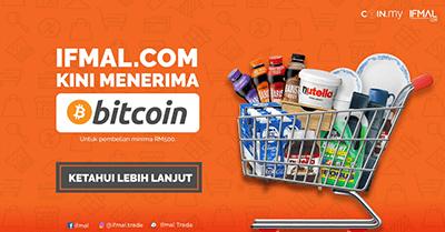 <span>Sponsored</span>Berbelanja Di Ifmal.com Menggunakan Bitcoin!